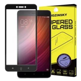 3D Xiaomi Redmi Note 4X černé - black - 3D prémiové ochranné temperované sklo - 3D premium tempered glass