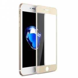 APPLE IPHONE 7 Plus / 7S Plus 3D zlaté prémiové ochranné temperované sklo - 3D gold premium tempered glass