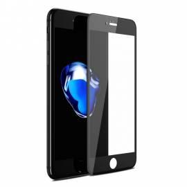 APPLE IPHONE 8 3D černé prémiové ochranné temperované sklo - black gold premium tempered glass