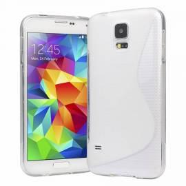 Samsung Galaxy S5 silikonové tenké pouzdro - bílé G900