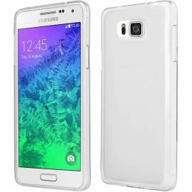 Samsung Galaxy Aplha silikonové tenké pouzdro - průhledné G850