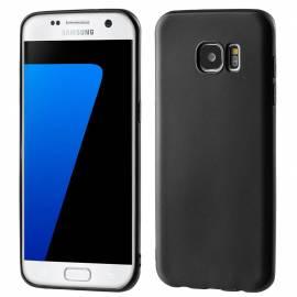 Samsung Galaxy S7 Edge silikonové tenké pouzdro - černé G935