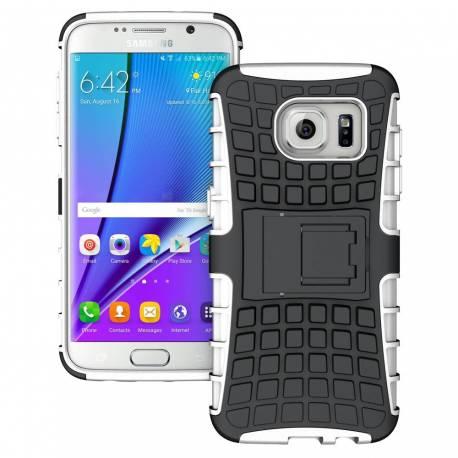 Samsung Galaxy Mega 6.3 odolné kickstand pouzdro - bílé i9205