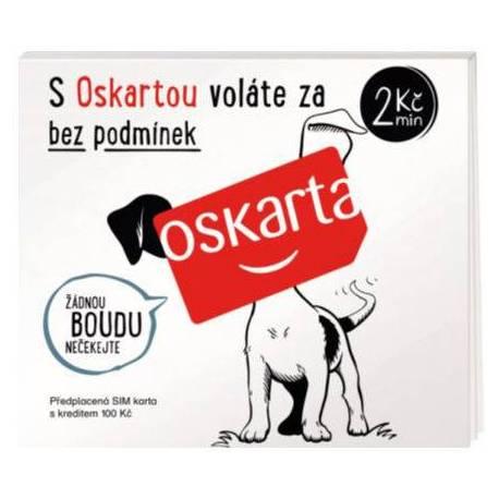 Předplacená karta Oskarta (Kredit 100,-Kč)