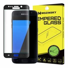 9H tempered glass screen protector film Samsung Galaxy S7 Edge G935 black glitter