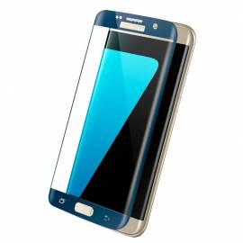 9H tempered glass screen protector film Samsung Galaxy S7 Edge G935 blue full screen