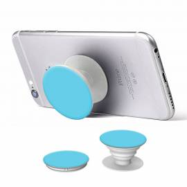 Pop holder phone car holder selfie stand blue white