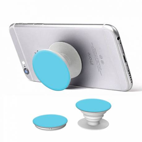 Pop holder phone car holder selfie stand blue white