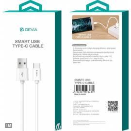 USB Type-C kabel 1.2m bílý