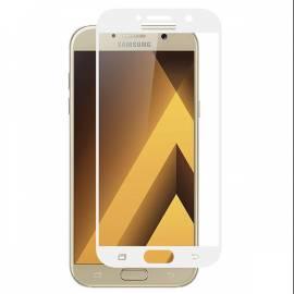 Samsung Galaxy A3 2017 3D bílé ochranné tvrzené sklo whtie