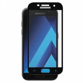 Samsung Galaxy A7 2017 3D modré ochranné tvrzené sklo blue