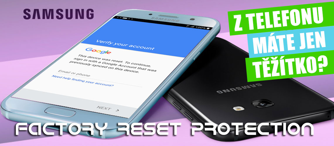 Google účet android - frp